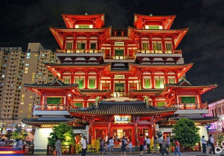 الحي الصيني بسنغافورة