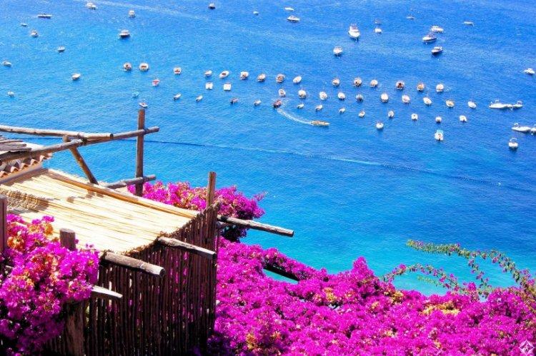 جمال ايطاليا الساحر بشاطئ ايشيا