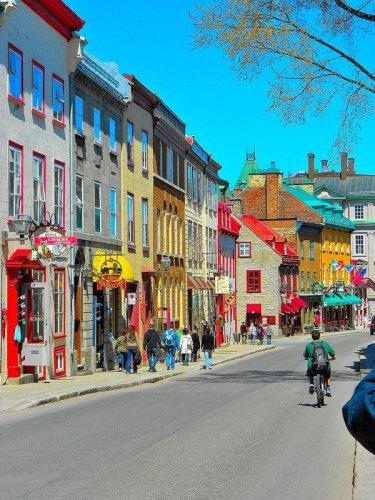 شوارع مدينة كيبيك سيتي