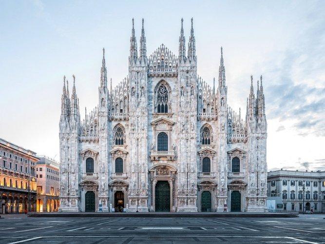 كاتدرائية ميلانو في مدينة ميلان