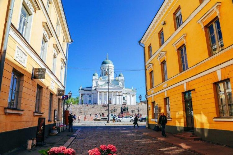 مدينة بورفو القريبة من هلسنكي