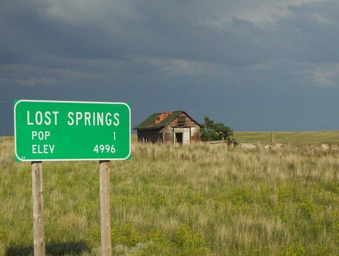 مدينة لوست سبرينغز في الولايات المتحدة الأمريكية