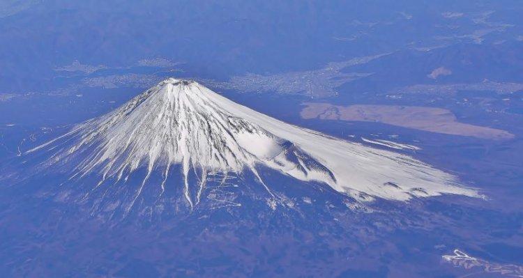 بركان نايبا المتجمد فى اليابان