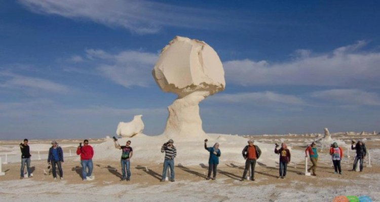 واحة الثلوج في مصر