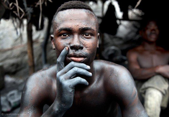شخص أفريقي