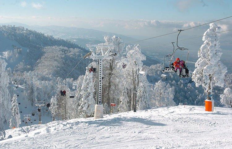 الثلج فى تركيا