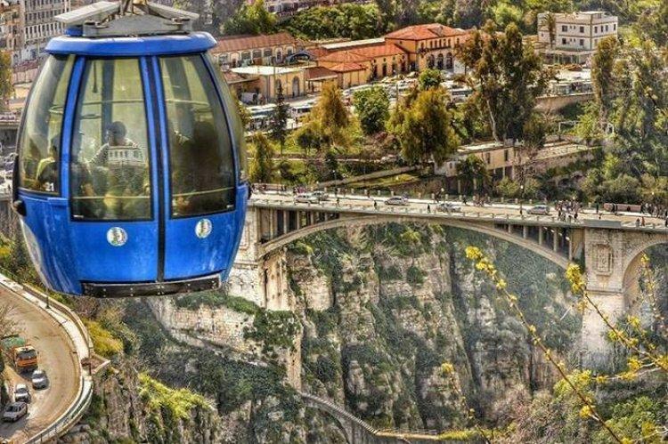 جسر قسنطينة بالجزائر