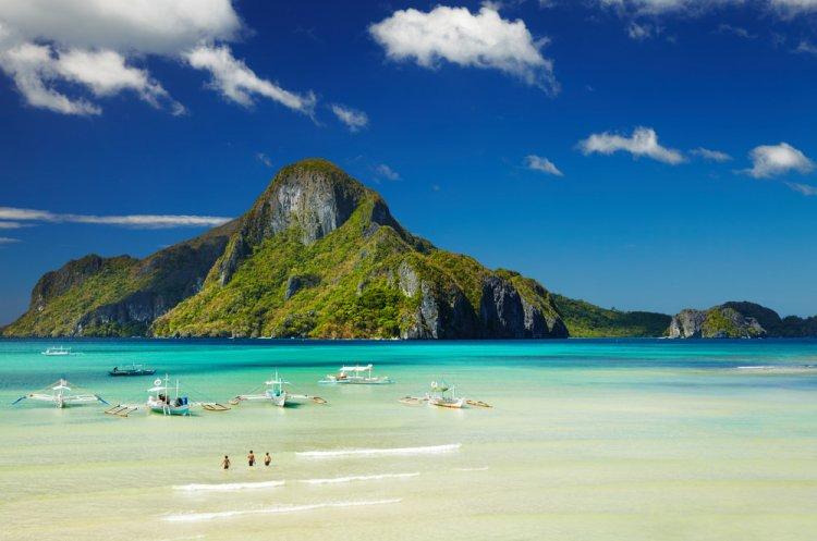 شواطئ الفلبين الساحرة