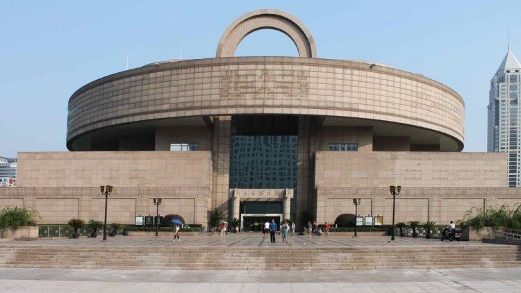 متحف شنغهاي في الصين