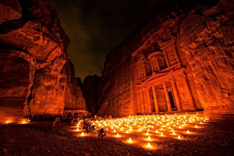 مدينة البتراء الأردن