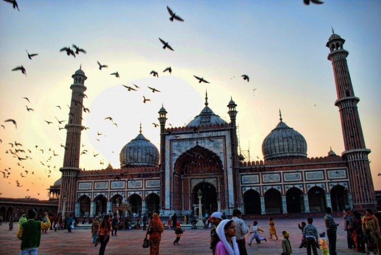 المسجد الجامع في دلهي
