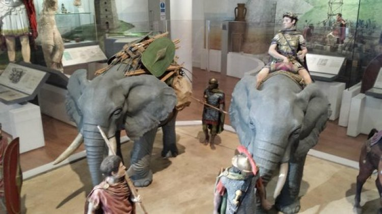 بعض معروضات متحف دوفر