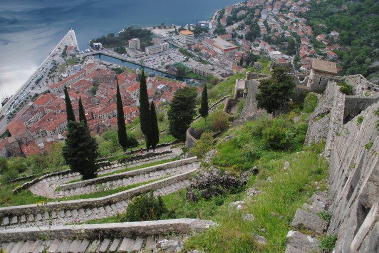 جدران المدينة القديمة