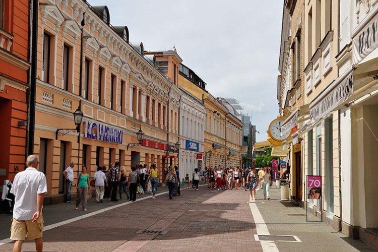 شارع غوسبودسكا في بانيا لوكا بالبوسنة والهرسك