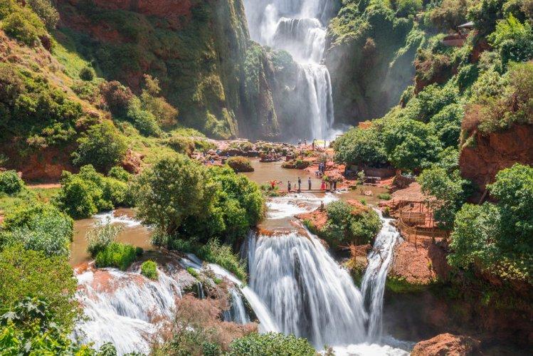 شلالات أوزود فى مراكش
