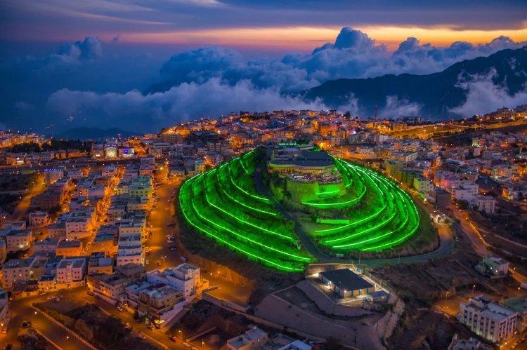 الجبل الأخضر في أبها