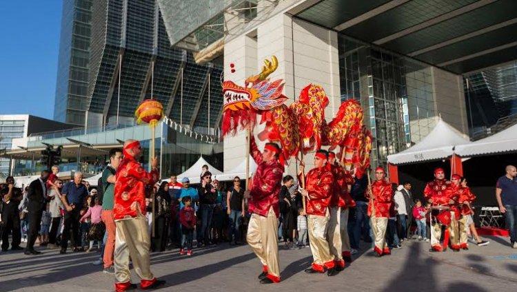 احتفال قومية دونج الصينية بالعام الجديد