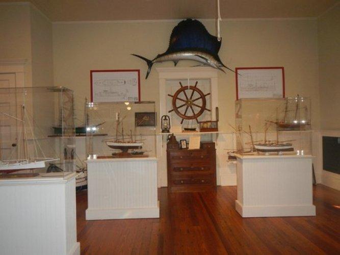 المتحف البحري في ولاية برادينتون الأمريكية