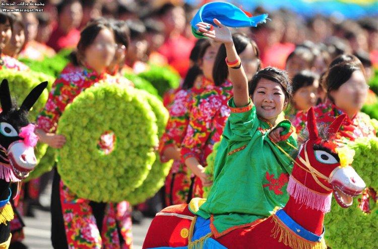 احتفال اليوم الوطني في الصين