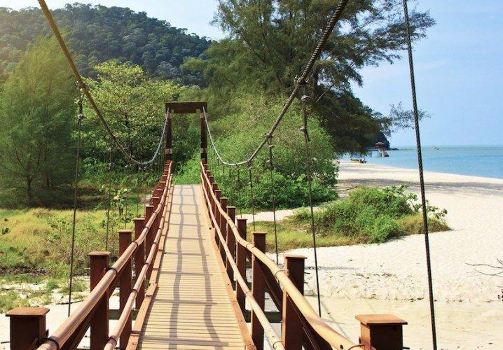 حديقة بينانج الوطنية  في جزيرة بينانج ماليزيا
