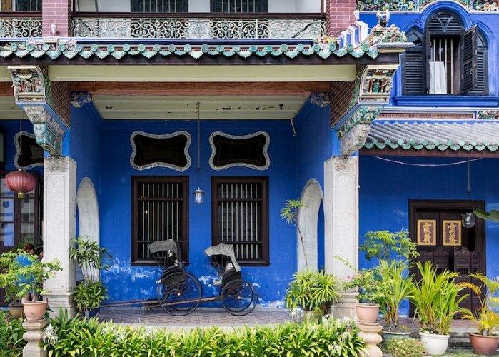 قصر  تشيونغ فات تسي  في جزيرة بينانج ماليزيا