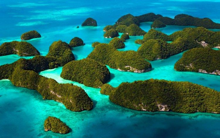 صورة لواحدة من أجمل الجزر السياحية الهندية