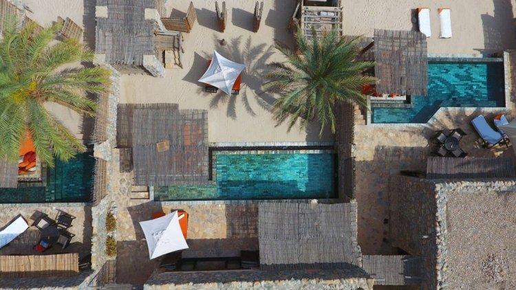 حمامات السباحة في منتجع سيكس سينسيز