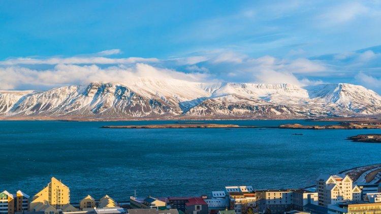 مدينة ريكيافيك آيسلندا