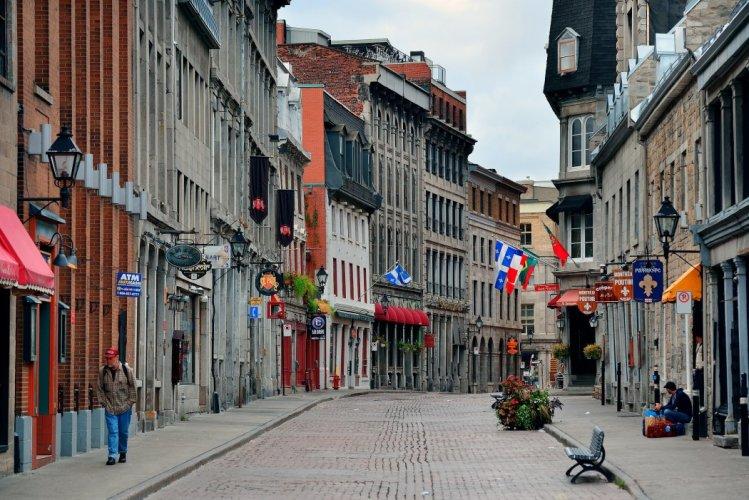شوارع مدينة مونتريال
