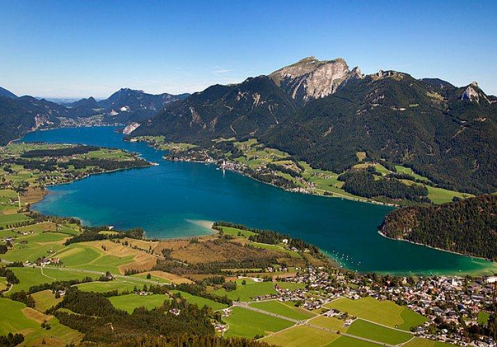 بحيرة فولفغانغ في النمسا
