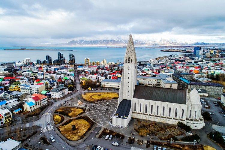 مدينة ريكيافيك في جنوب آيسلندا