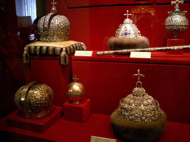 معروضات متحف الكرملين
