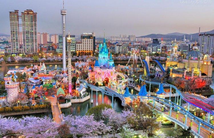 ملاهي إيفرلاند في كوريا