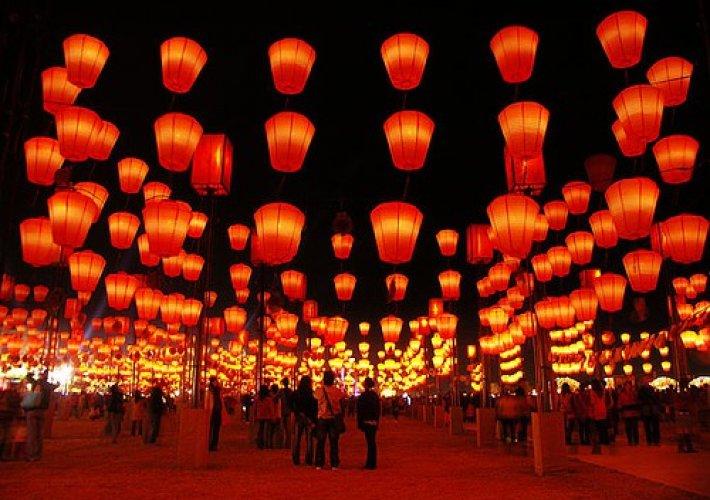 مهرجان الشعلة في الصين