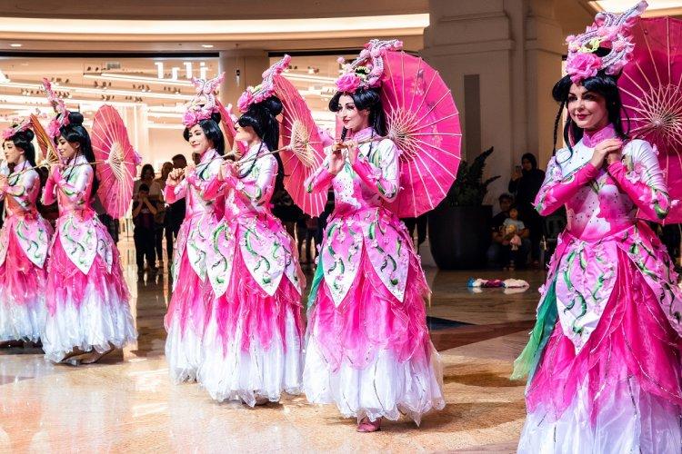 احتفالات مول الإمارات بالعام الصيني