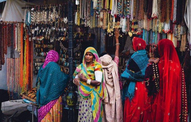 أحد أسواق راجستان