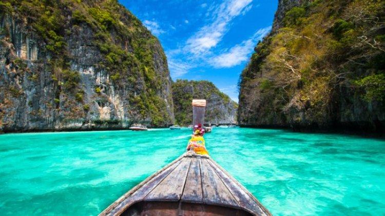 ركوب القوارب في تايلاند