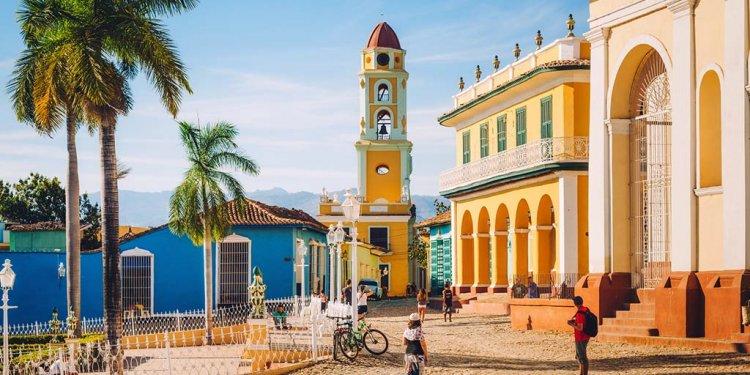 السياحة في ترينيداد في ترينيداد كوبا