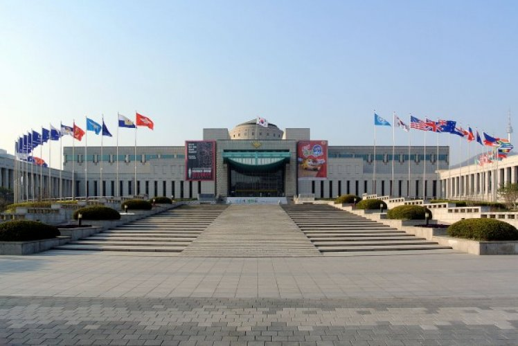 المتحف الحربي الكوربي في سيول كوريا