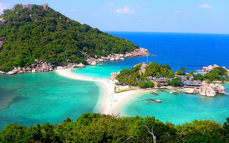 جزيرة كوه تاو في تايلاند