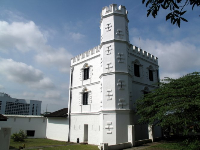 حصن مارغريتا في كوتشينغ ماليزيا