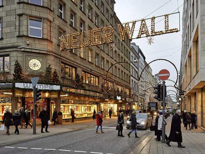 شارع هوخ ستراسه في كولون ألمانيا