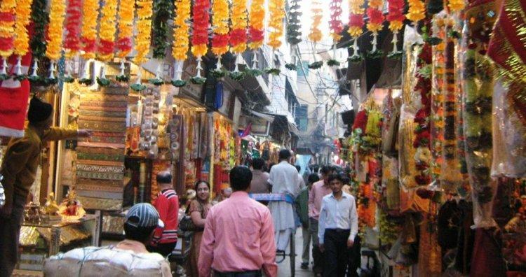 شوارع أغرا الهند