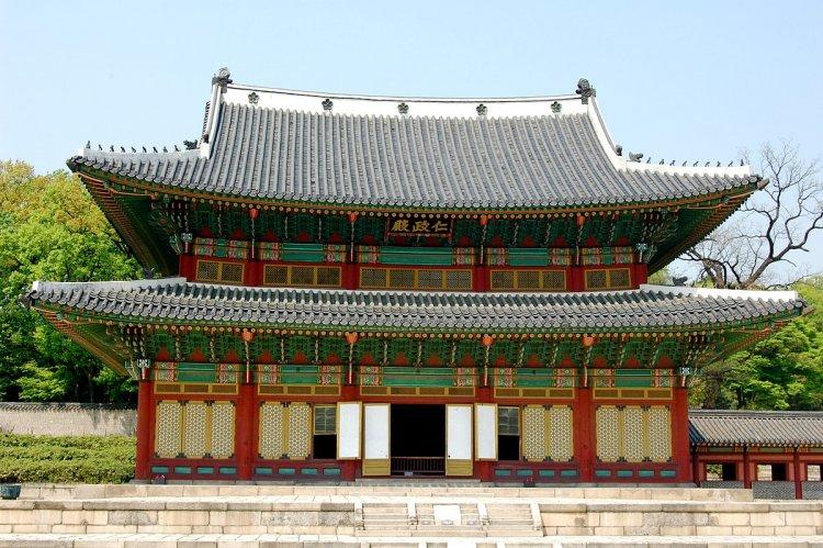 قصر تشانغدوك في سيول كوريا