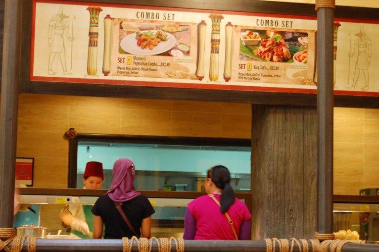 مطعم أوسيس سبايسس في سنغافورة