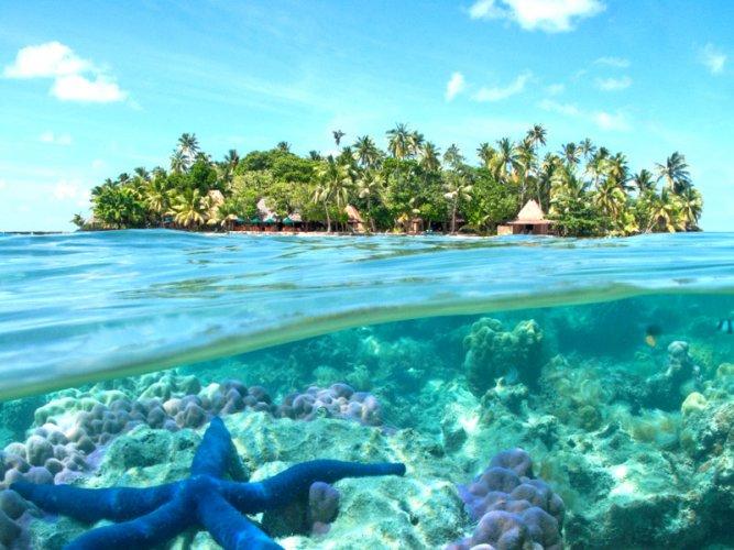مياه جزيرة بورنيو