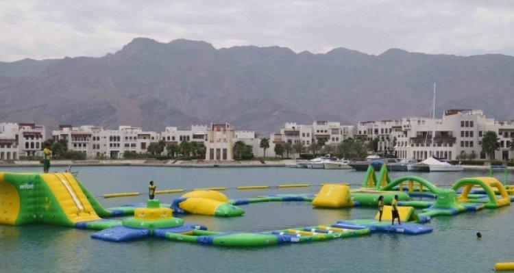 الحديقة المائية في السيفة سلطنة عمان