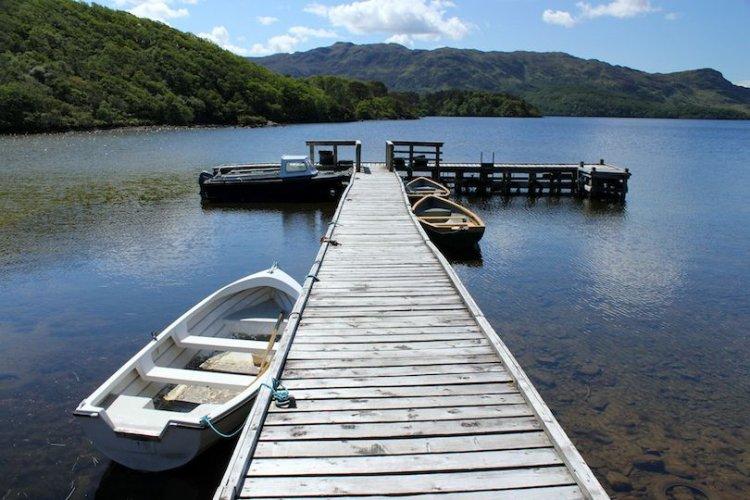 بحيرة Arklet في اسكتلندا