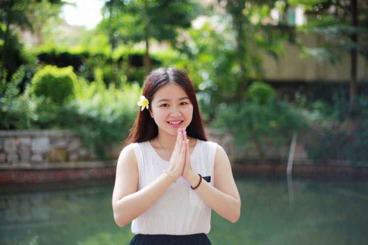 التحية في تايلند