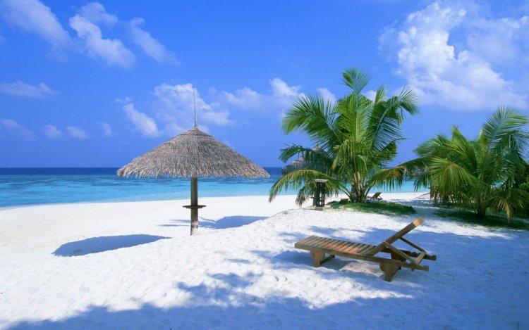 الاستجمام في جزر المالديف